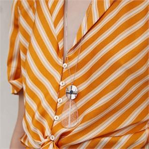 마티아스[] Summer jelly Necklace - Silver