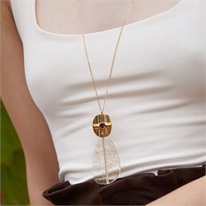 마티아스[] Summer jelly Necklace - Gold