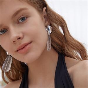 마티아스[] Summer jelly Earring - Silver