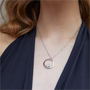 마티아스[] Round candy Necklace - Silver