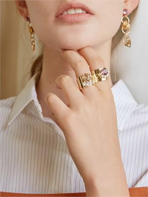 마티아스[MATIAS] Gold crown Ring