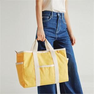 [조니조니] Sketch canvas bag_Yellow