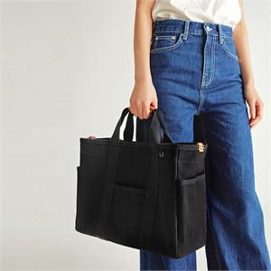 [조니조니] Sketch canvas bag_black