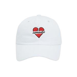 NOMANTIC BASIC LOGO BALL-CAP WHITE