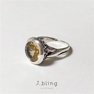 [제이블링] 레몬수정 반지