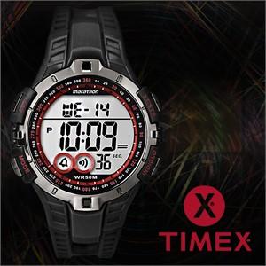 TIMEX 타이맥스 T5K423 남성시계 우레탄밴드 마라톤시계