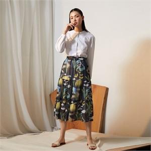 [줄리빈즈] Home Chiffon Maxi Skirt