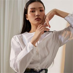 [줄리빈즈] White Raglan Cotton Blouse