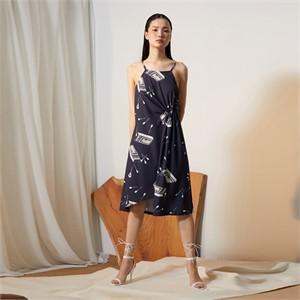 [줄리빈즈] Match Side Drape Dress