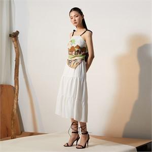 [줄리빈즈] White Maxi Skirt