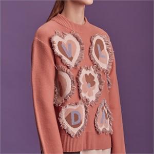 [블리다] pink cashmere knit