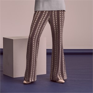[블리다] black knit pants
