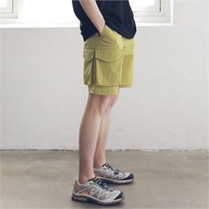 [매스노운] 사이드 투 포켓 카고 숏 팬츠 반바지 MSNSP004-YL