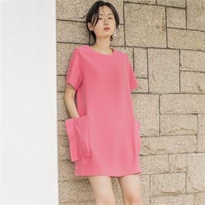[블리다] pink pocket dress