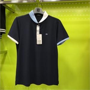 피에이티 NC05 둥근 배색에리 티셔츠 1F 45204