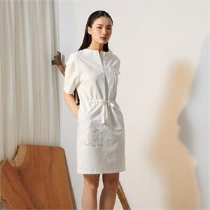 [줄리빈즈] Cotton Safari Dress