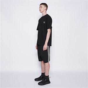 [디바이디그낙] 2 Line Baggy Shorts (BK)