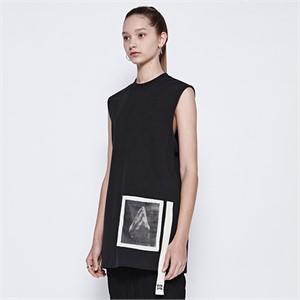 [디바이디그낙] Pray Sleeveless T-Shirts (BK)