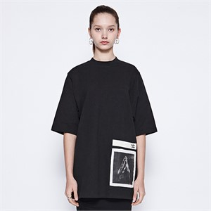 [디바이디그낙] Pray Basic T-Shirts (BK)