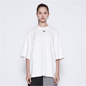 [디바이디그낙] 12 Embroidery T-Shirts (WH)