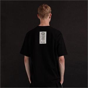 [디바이디그낙] illi Patch Printing T-Shirts (BK)