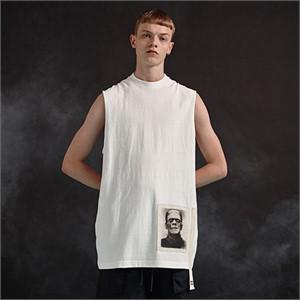 [디바이디그낙] Frankenstein Sleeveless T-Shirts (WH)