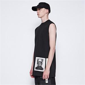 [디바이디그낙] Frankenstein Sleeveless T-Shirts (BK)