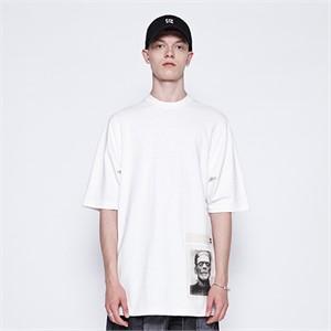 [디바이디그낙] Frankenstein Basic T-Shirts (WH)
