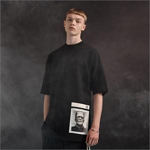 [디바이디그낙] Frankenstein Basic T-Shirts (BK)