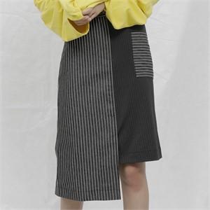 [느와] Pen Skirt