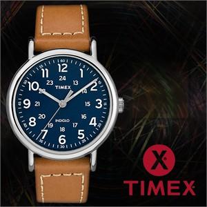 TIMEX 타이맥스 TW2R42500 남성시계 가죽밴드 손목시계