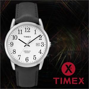 TIMEX 타이맥스 TW2P75600 남성시계 가죽밴드 손목시계
