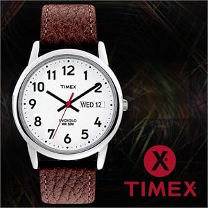 TIMEX 타이맥스 T20041 남성시계 가죽밴드 손목시계