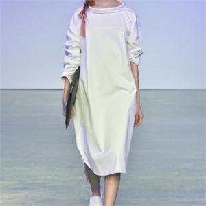 [사이미전] REVERSE SHIRT DRESS WHITE