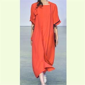 [사이미전] VOLANT LONG DRESS RED