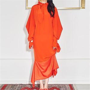 [사이미전] 로터스 넥 드레스
