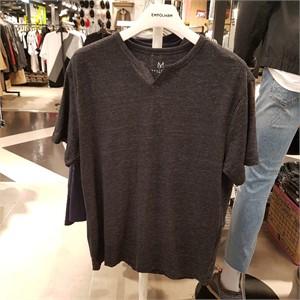 엠폴햄 NC05 슬럽 헨리넥 반팔 티셔츠 EPZ2TR1155