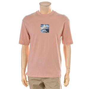 TBJ NC02 남성 싱글 앞뒤판 프린트 티셔츠 T182TS030P