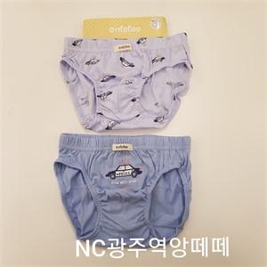 앙떼떼 NC05 경찰차남아2입팬티 ATPF19W31