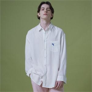 [와이케이] [멜로망스 김민석 착용]스테디_ 린넨 셔츠 화이트