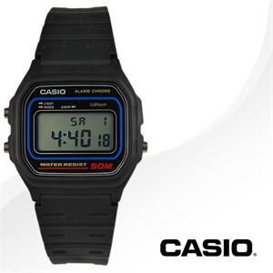 CASIO 카시오 W-59-1V 남성시계 우레탄밴드 손목시계