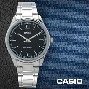 CASIO 카시오 MTP-V005D-1B2 남성시계 메탈밴드 손목시계