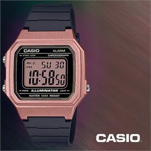 CASIO 카시오 W-217HM-5A 남성시계 우레탄밴드 손목시계