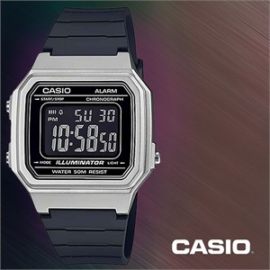 CASIO 카시오 W-217HM-7B 남성시계 우레탄밴드 손목시계