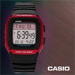 CASIO 카시오 W-96H-4A 남성시계 우레탄밴드 손목시계