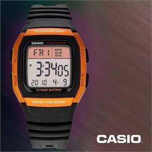 CASIO 카시오 W-96H-4A2 남성시계 우레탄밴드 손목시계
