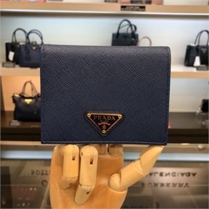 럭셔리갤러리 프라다 NC02 사피아노 반지갑  1MV204