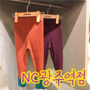 밀리밤 NC05 배색 레깅스 MLTS19T01