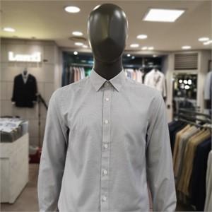 란찌 NC02 베이직  잔체크 셔츠 LAYS19WG278