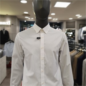 란찌 NC02 솔리드 스트레치 셔츠 LAYS19AG500